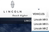 Lincoln.com home page